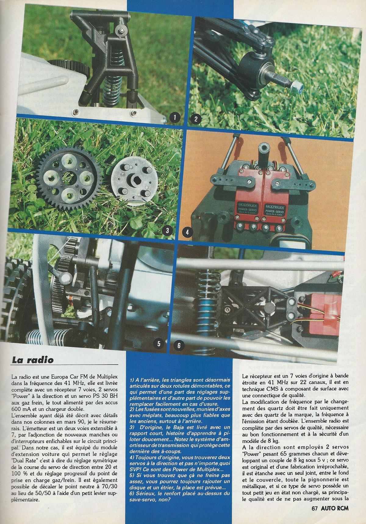 R 233 Tro Mod 233 Lisme Baja Cross Control Essai Voiture H